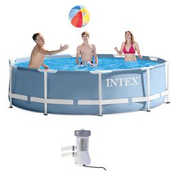 Бассейн каркасный Intex Metal Frame Pool 28712 (366х76 см)