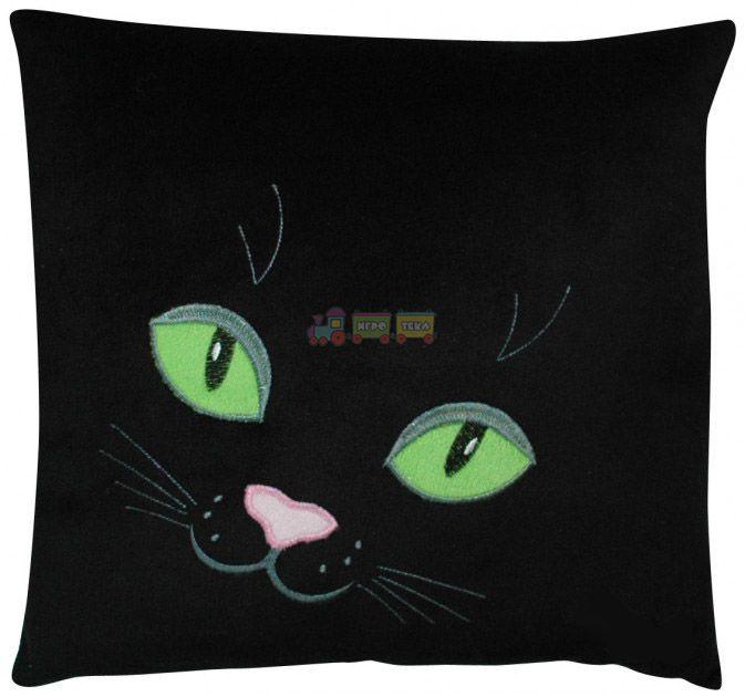 Декоративная подушка Кошачьи глаза оптом і в роздріб Ігротека 23d3103cf8e0d