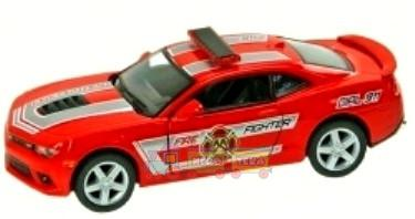 Машина металлическая KINSMART KT5383WPR Chevrolet Camaro Police/ Fire Fighter
