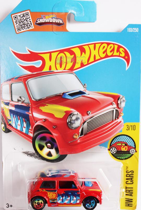 машинка Hot Wheels Morris Mini 193250 оптом и в розницу игротека