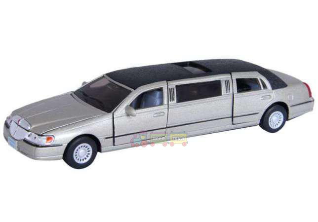Машинка Kinsmart (KT7001W) LINCOLN TOWN CAR LIMOUSINE