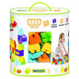 Мои первые кубики Baby Blocks Wader в сумке (41420) 100 элементов