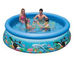 Intex 28124 Надувной бассейн Easy Ocean Set Pool (305х76 см)