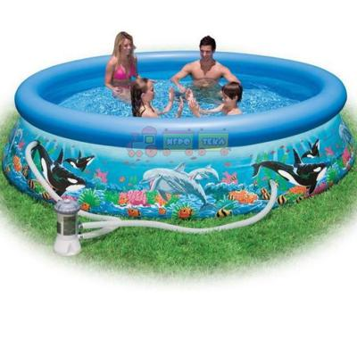 Intex 28126 Надувной бассейн Easy Ocean Set Pool (305х76 см)