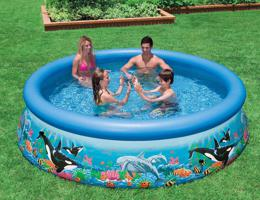 Intex 28134 Надувной бассейн Easy Ocean Set Pool (366х76 см)