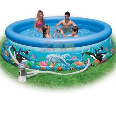 Intex 28136 Надувной бассейн Easy Ocean Set Pool (366х76 см)