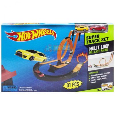 Трек Hot Wheels Super Track Set 31 деталь (8825)
