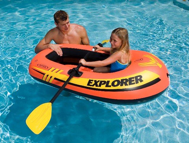 лодка одноместная надувная-отзывы